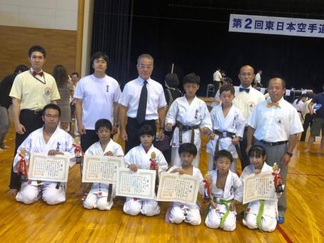 第2回東日本空手道選手権大会の結果