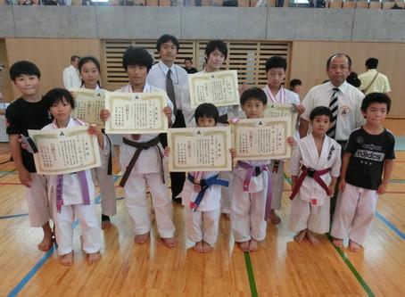 第19回埼玉キューポラ杯空手道選手権の結果