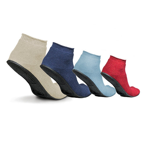 Ultra-Grip® Terrycloth Medical Rubber Soled Slippers