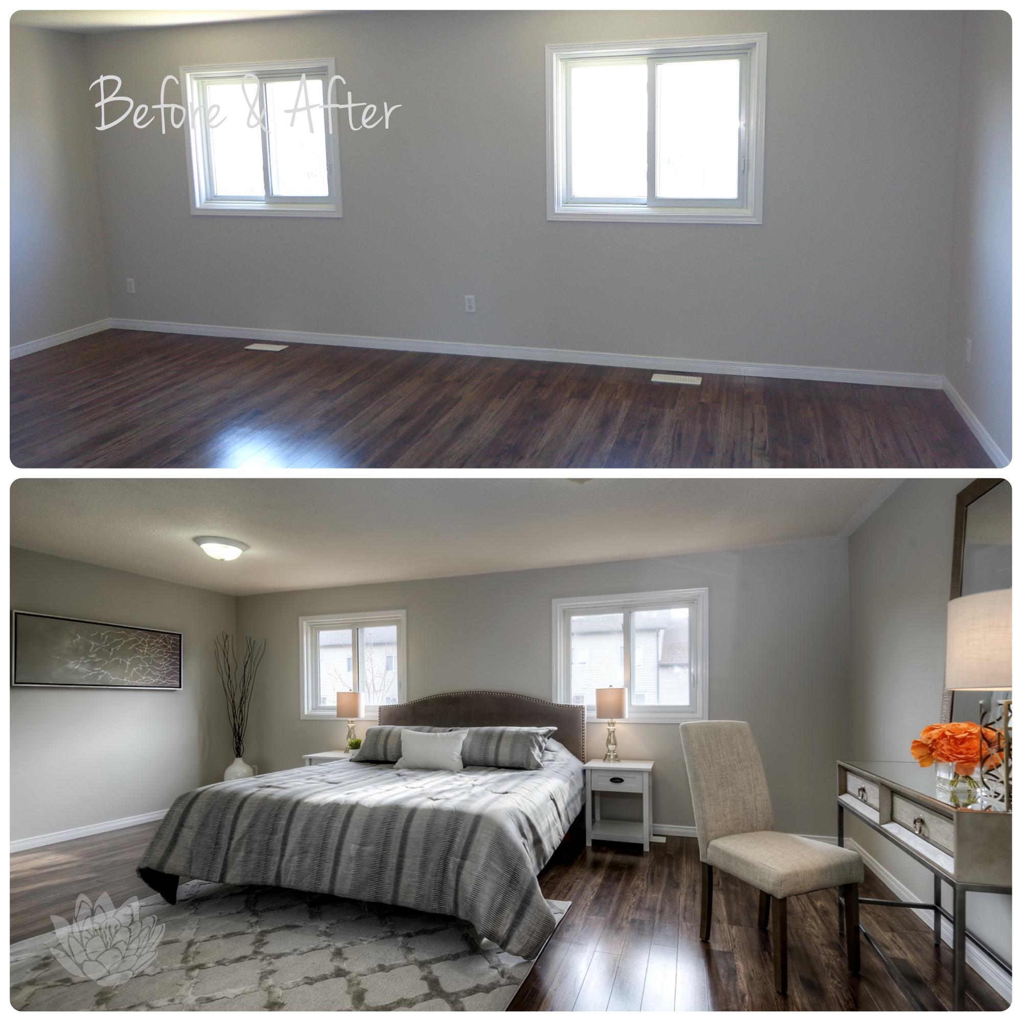 Vacant Staging | Master Bedroom
