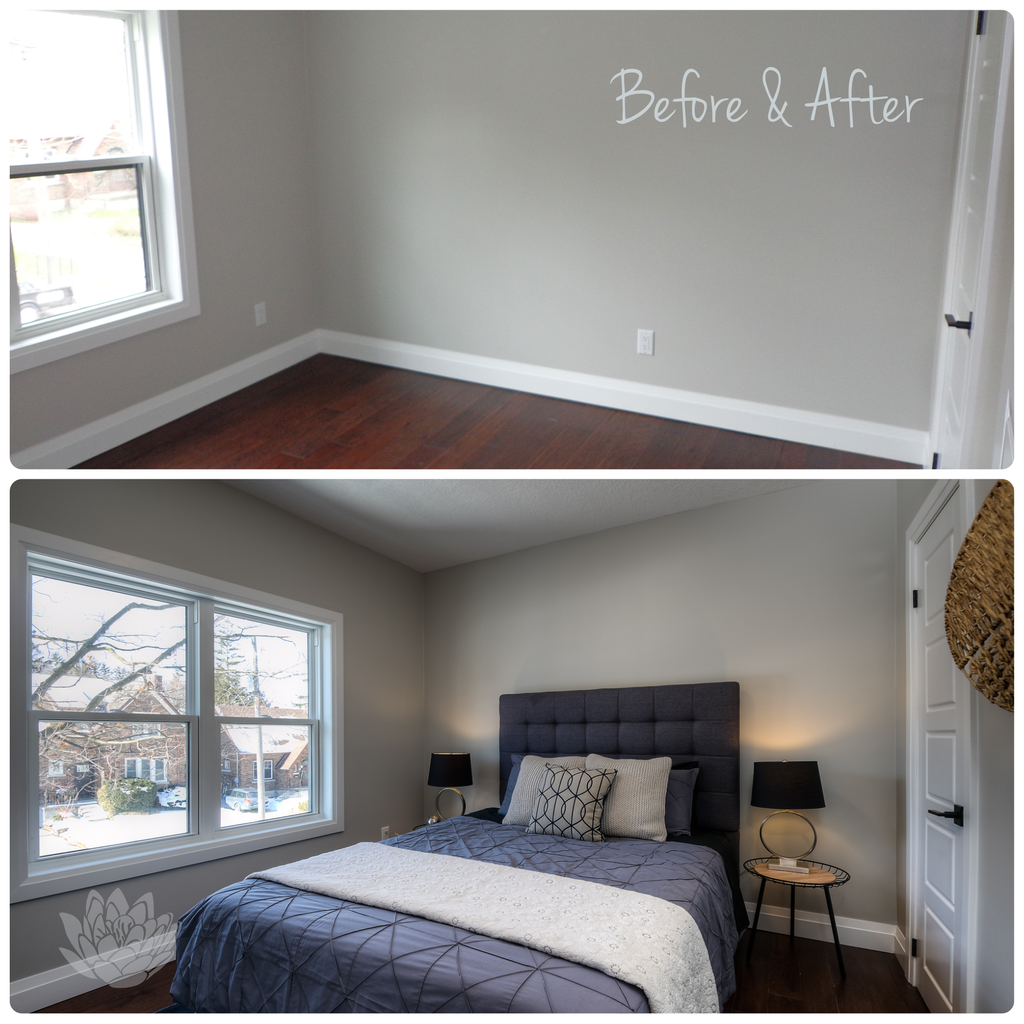 Vacant Staging | Bedroom
