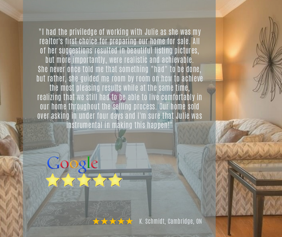 Google Review | Home Staging Consultation