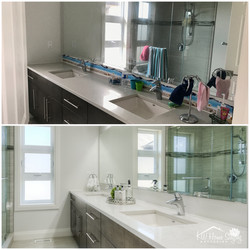 Semi-Occupied Home | Bathroom Staging