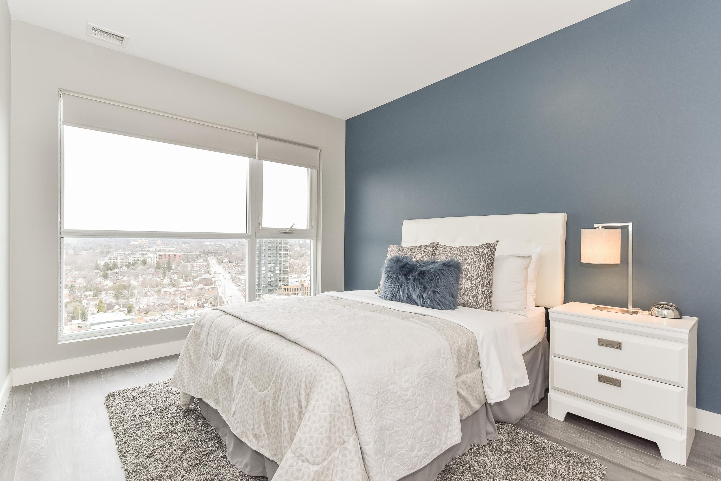 Condo Bedroom | 1 Victoria