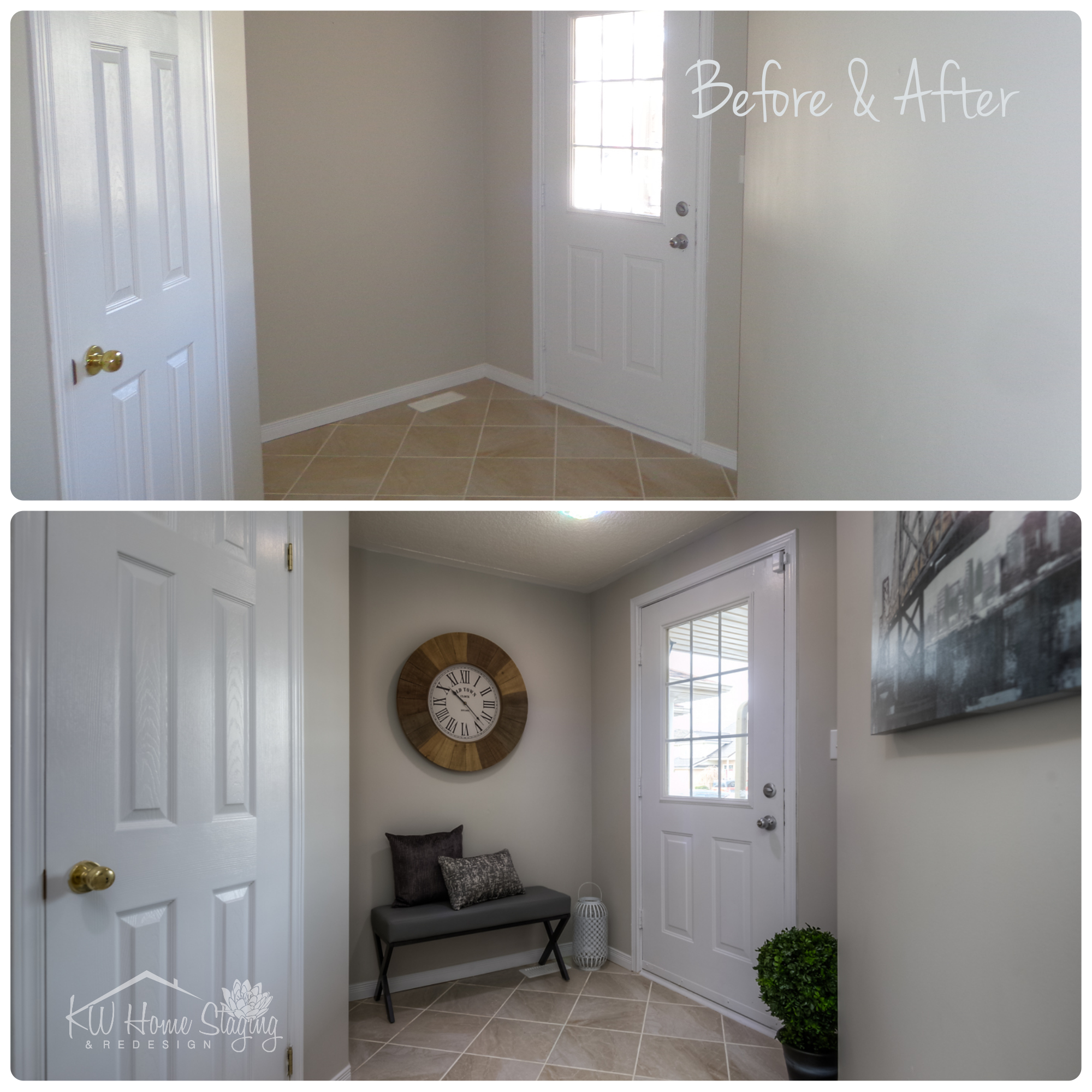 Vacant Staging | Entryway