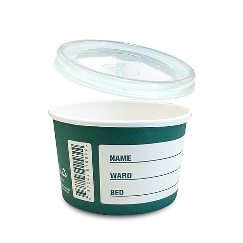 Ecoaid® Biodegradable Paper Denture Cup
