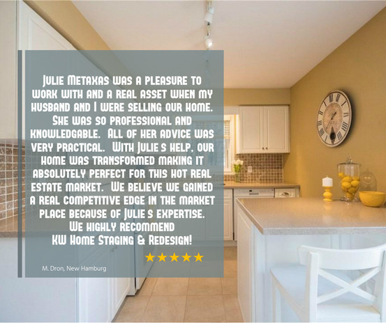Google Review | Home Staging Consultation + Photo Prep Service