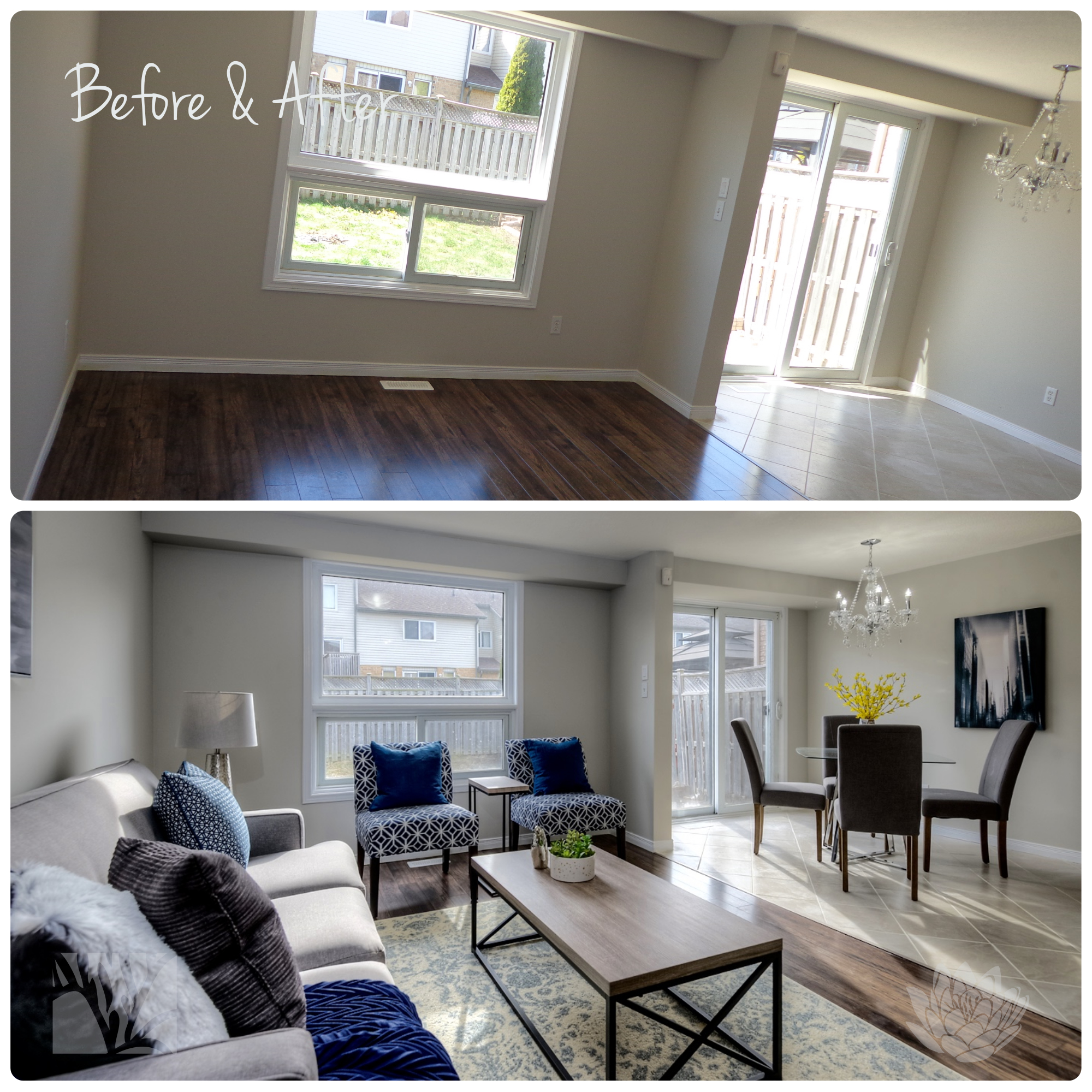 Vacant Staging | Living Room