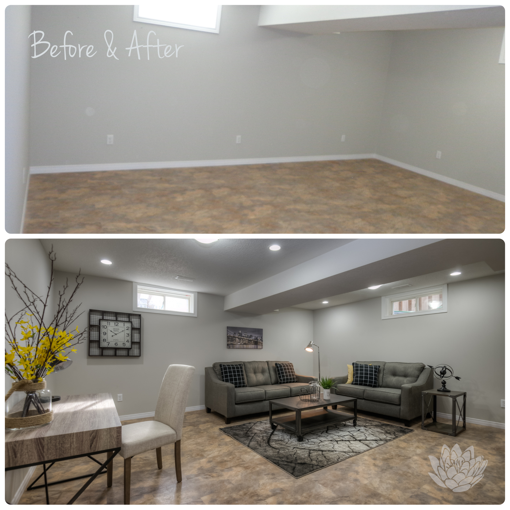 Vacant Staging | Basement