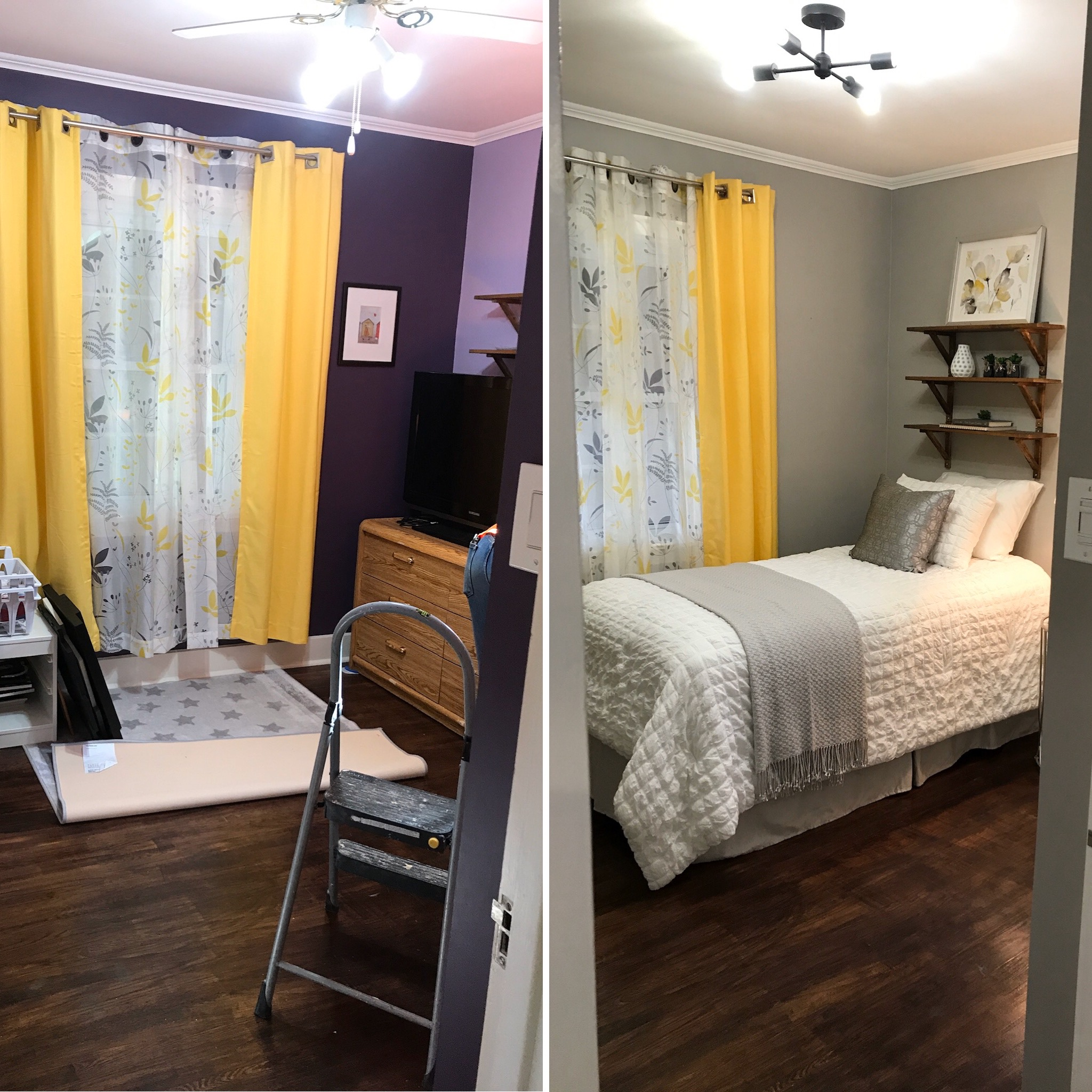 Semi-Occupied Home | Bedroom Transformation