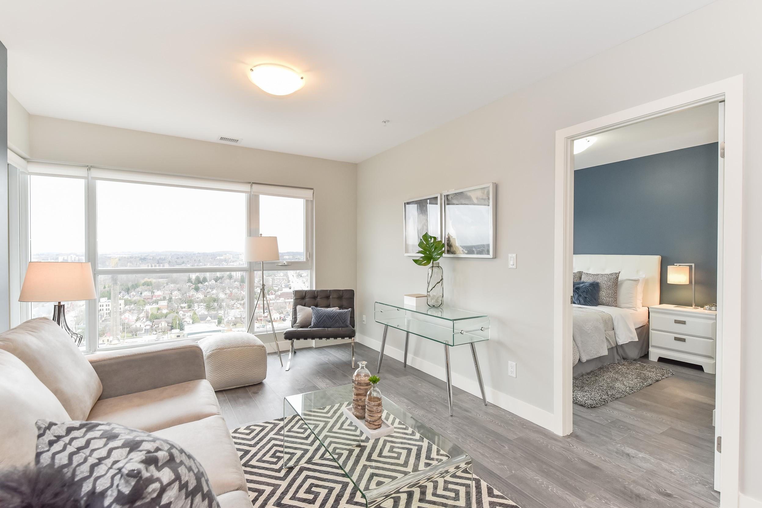 Condo Living Room | 1 Victoria