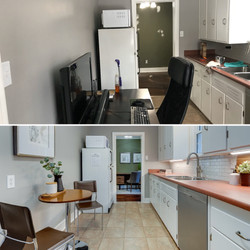 Semi-Occupied Home | Kitchen Staging