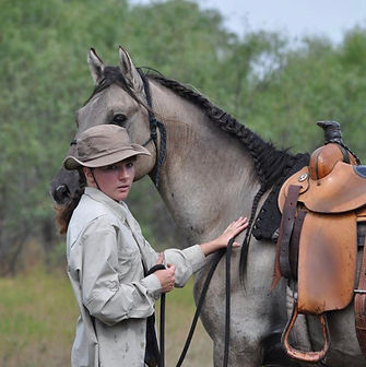 Sarah Butterworth and Kiger Mustang Stallion