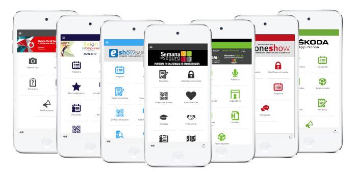 Imagen app para eventos