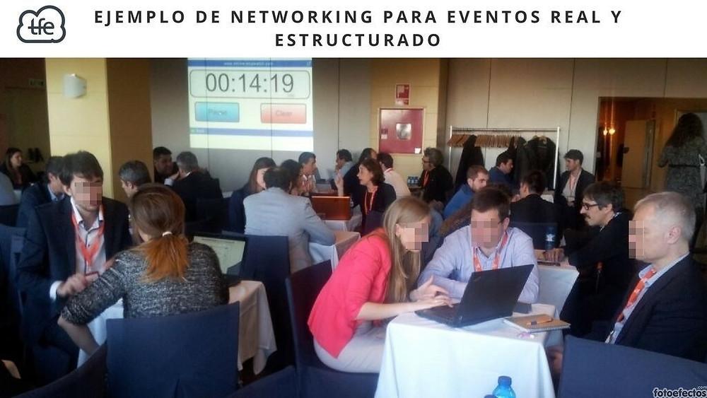 Networking para eventos real y estructurado