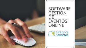 software para la organización y gestión de eventos