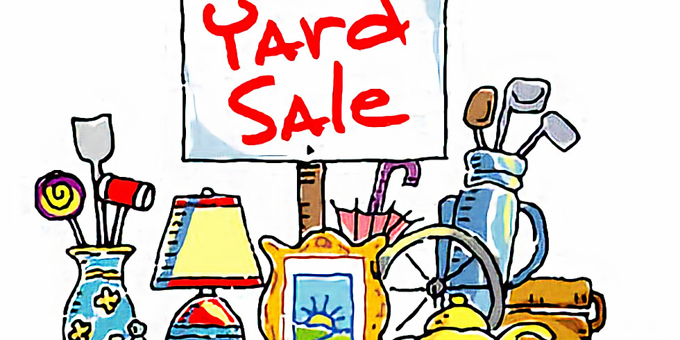 Yard Sale - Saturday, September 14th  (1)