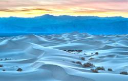 Dunes in Blue