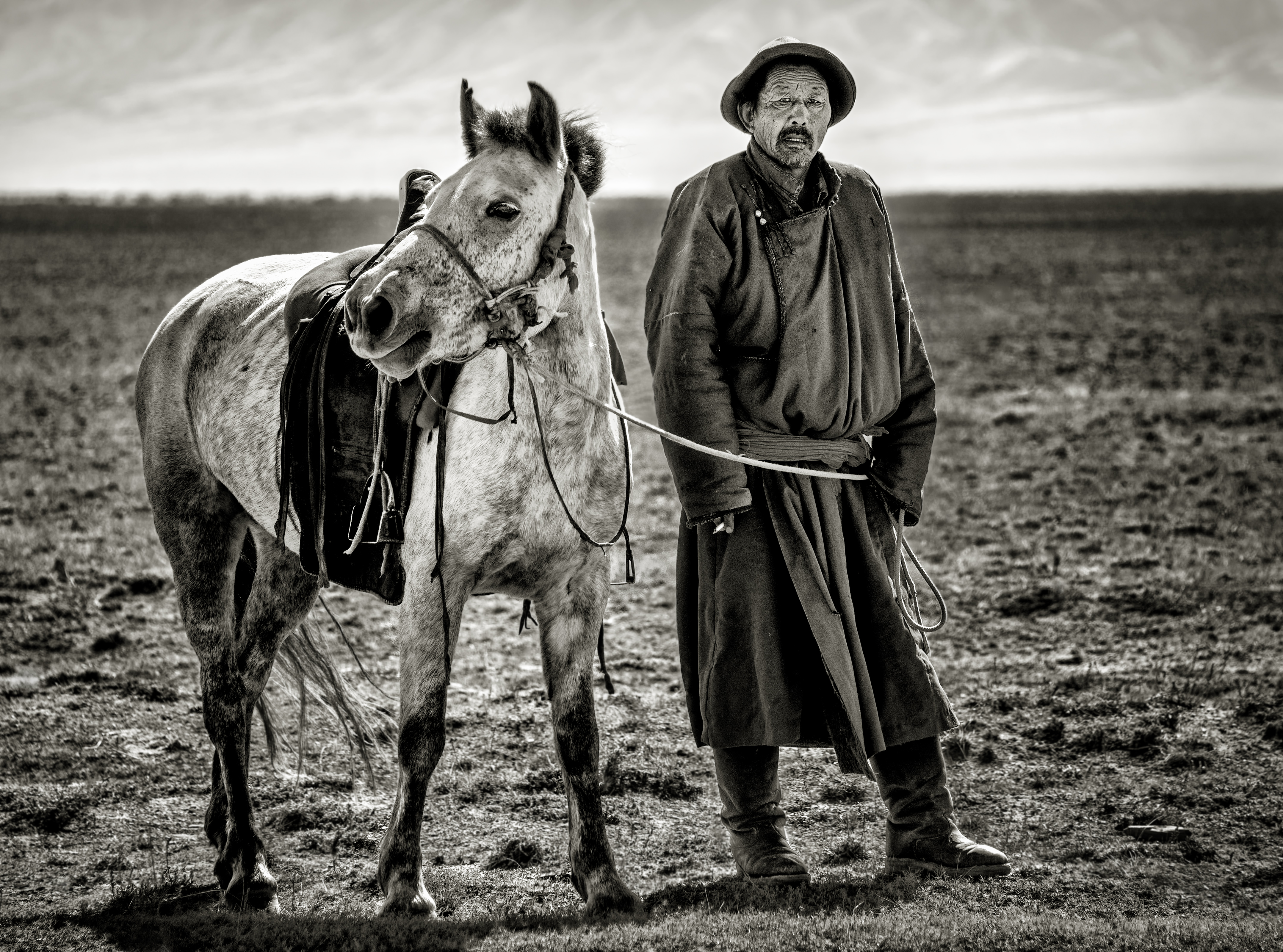 Herder and Horse