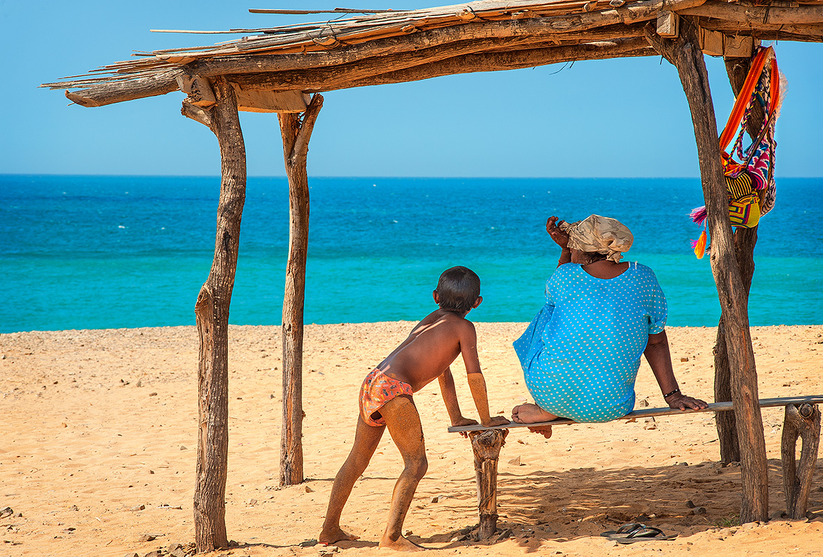Wayuu Vender and Boy