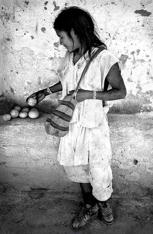 Arhuaco Boy and Fruit