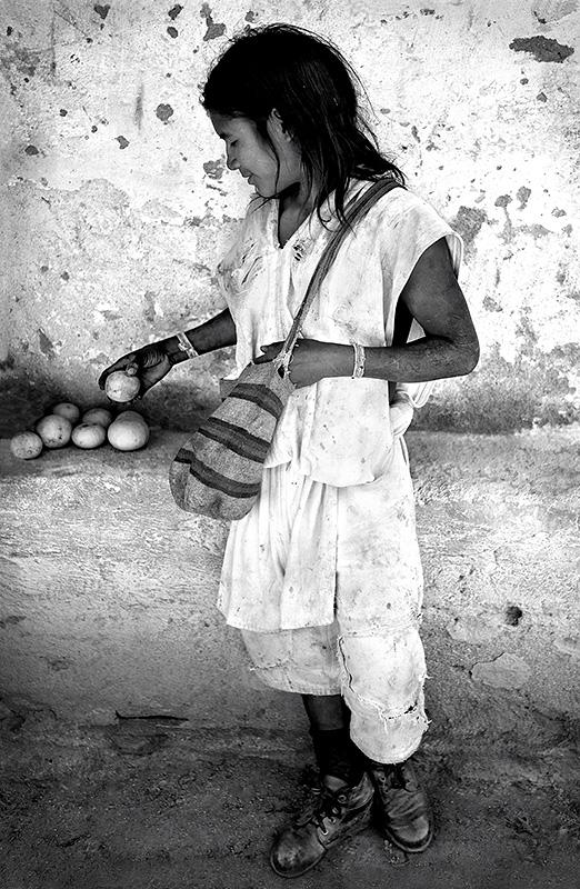 Arhuaco Boy and Fruit