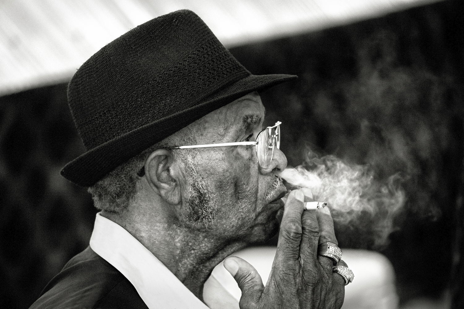 Smokin Blues Man