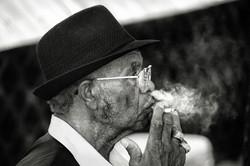 Smokin Blues Man