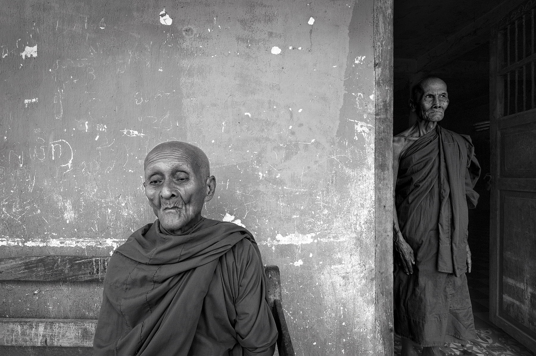 Khmer Monks
