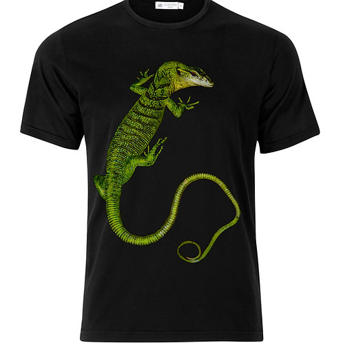 Emerald Tree Monitor climbing shirt
