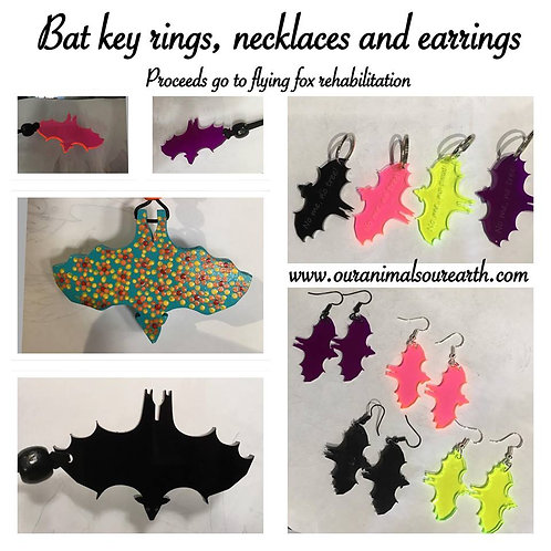 Bat keyrings
