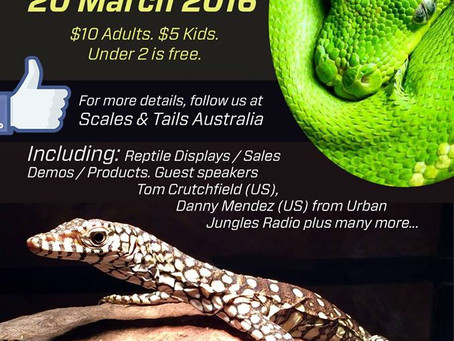 Scales & Tails Reptile Show