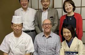 Kales先生、二度目の来日、第67回日本職業・災害医学会学術大会
