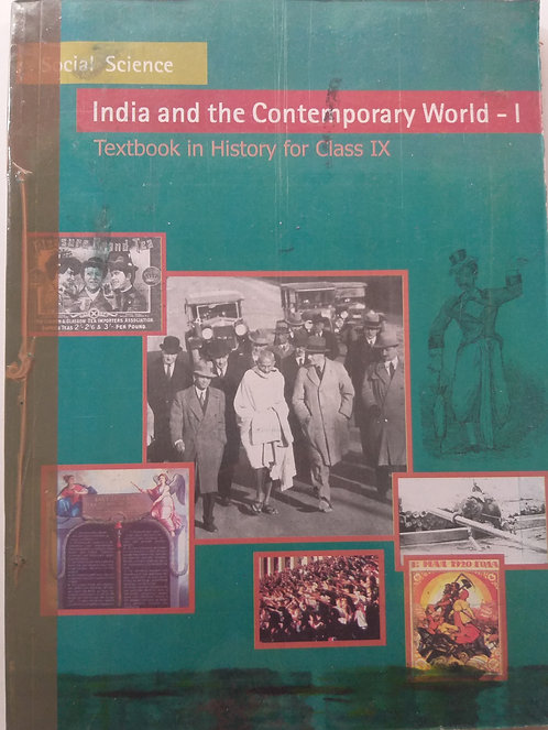 NCERT INDIA AND CONTEMPORARY WORLD BOOK FOR CLASS 9th