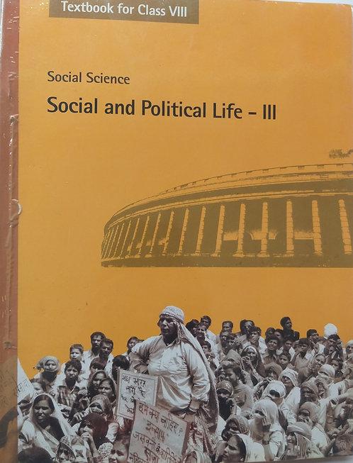 NCERT SOCIAL& POLITICAL LIFE BOOK FOR CLASS 8th