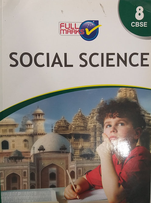FULL MARKS SOCIAL SCIENCE FOR CLASS 8th