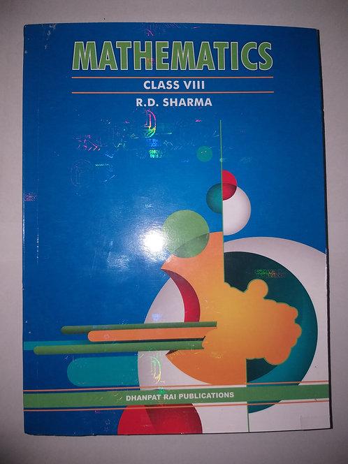 R.D SHARMA BOOK FOR CLASS 8th