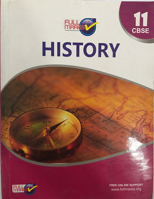 FULL MARKS HISTORY BOOK FOR CLASS 11th