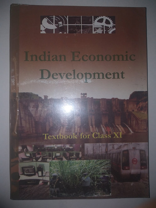 NCERT INDIAN ECONOMIC DEVELOPMENT BOOK FOR CLASS 11th