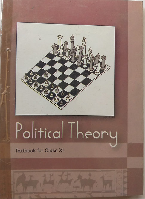 NCERT POLITICAL THEORY BOOK FOR CLASS 11th