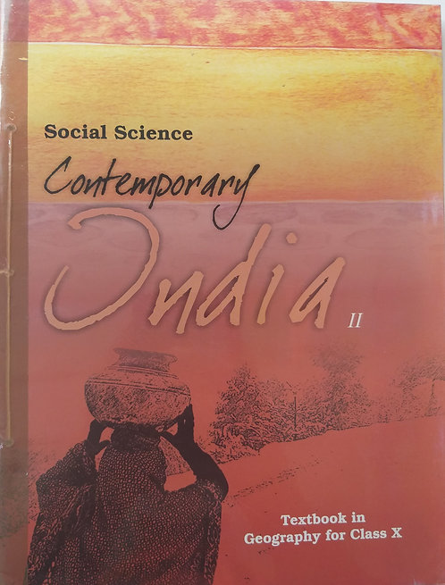 NCERT CONTEMPORARY INDIA BOOK FOR CLASS 10th