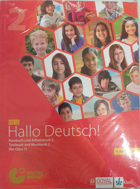 HALLO DEUTSCH  BOOK [ GERMAN ]  FOR CLASS 7th