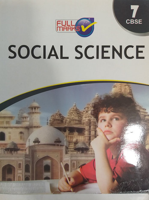 FULL MARKS SOCIAL SCIENCE BOOK FOR CLASS 7th