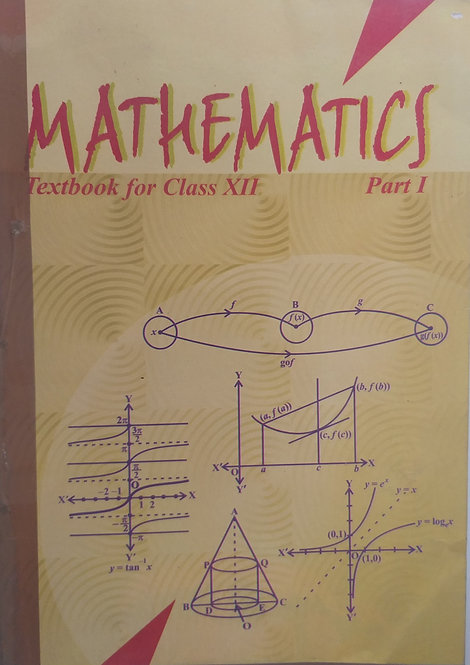 NCERT MATHEMATICS BOOK FOR CLASS 12th
