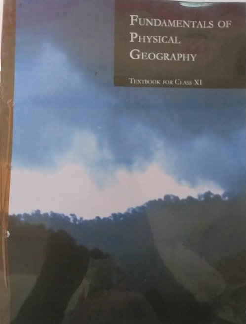 NCERT FUNDAMNETALS OF PHYSICAL GEOGRAPHY BOOK FOR CLASS 11th