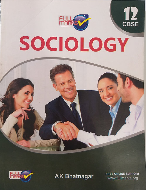 FULL MARKS SOCIOLOGY BOOK FOR CLASS 12th