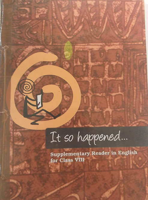 NCERT IT SO HAPPEN BOOK FOR CLASS 8th