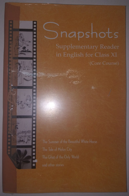 NCERT SNAPSHOT ENGLISH BOOK FOR CLASS 11th