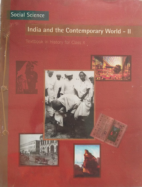 NCERT INDIA AND CONTEMPORARY WORLD  -II  BOOK FOR CLASS 10th