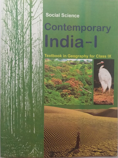 NCERT CONTEMPORARY WORLD BOOK FOR CLASS 9th